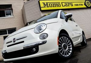 2013 Fiat 500 Lounge! Coupe! Cruise+Aux/USB! ONLY $88/bi-weekly!