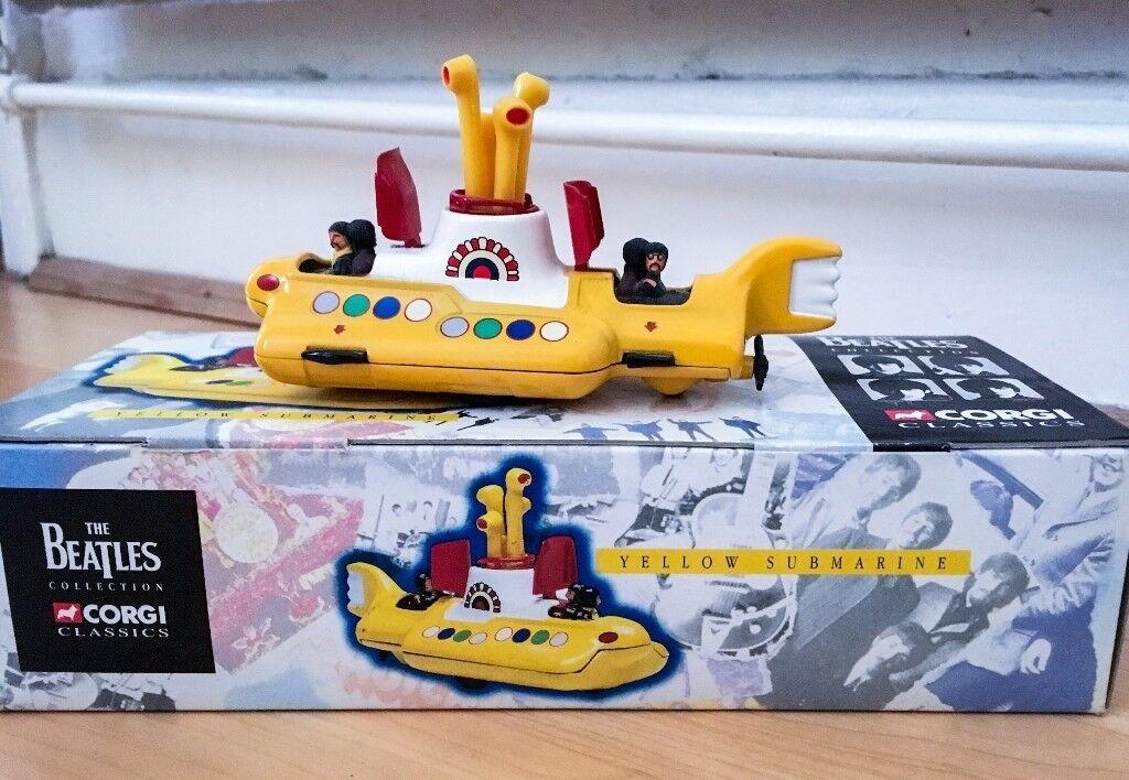 SALE IN PROGRESS: The Beatles Yellow Submarine Die Cast Corgi Collectable
