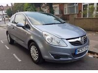 2007 Vauxhall Corsa, 1.0 Manual, Silver, 2 Owners