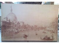 Laura Ashley (?) Large Picture/Canvas/Print/Wall Art of Venice