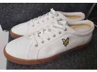 Lyle and scott brand new shoes trainers plimsole