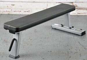 NEW Heavy Duty eSPORT IRON BULL T1036 Commercial  Flat Bench 11 gauge 2 x 4 Frame