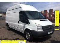 SALE SALE!! Ford Transit 2.2 125PS 350 LWB High Roof, 1 Owner , FSH , 1YR MOT , 79K Miles,Six Speed