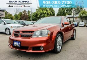 2012 Dodge Avenger R/T, GPS NAV, SUNROOF, A/C, BUCKET SEATS