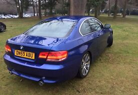 "BMW 335d SE, 3.0 Coupe, Twin Turbo, Automatic, Blue, 18"" Alloys, Dakota Black Leather,Immaculate"