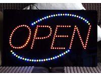 LED Open Shop Sign