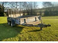 Ifor Williams plant trailer 10x5_7 brakes lights