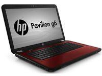 HP Pavilion G6 AMD E2-3000M CPU 1.80 500GB 8GB RAM RADEON HD Win10 Laptop RED--