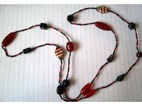 multi glass murano necklace