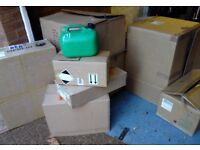 Used cardboard boxes ideal for packaging for online sales of home move minimum 10 for £5