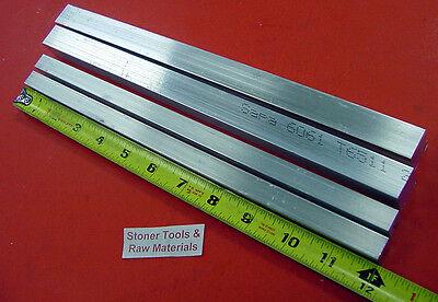 2 Pieces 34x 34 2 Pieces 12x 12 Aluminum Square Bar 12 Long 6061 T6511