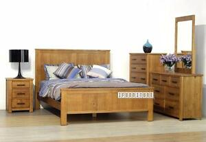 ifurniture Warehouse Sale -- Solid Wood Bed Room Set from $1199!!