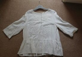 Next: White blouse top (size 12)