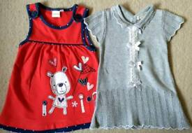 Baby girl dress (only red one left), 0-3 months