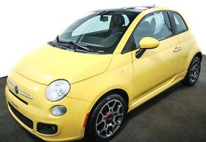 2012 Fiat 500 Sport TOIT OUVRANT MAGS 16 BLUETOOTH