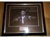 Vinnie Jones Lock, Stock and Two Smoking Barrels photo framed & signed