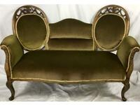 Antique Victorian settee (Reduced)