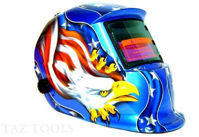 Stars Eagle Auto Darkening Welding Helmet Mask Welder Mma Mig Mag Tig Plasma Arc