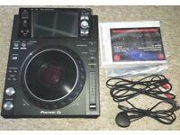 PIONEER XDJ 1000 MK2 DIGITAL DJ DECK / TURNTABLE USB 5 MONTHS OLD MINIMAL USE