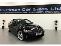 BMW 3 SERIES 330D M SPORT (black) 2012