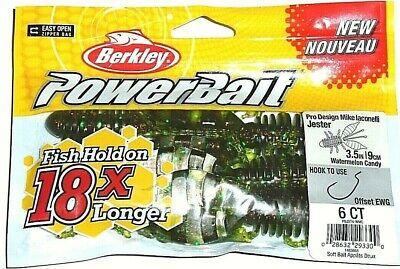Pick Berkley PowerBait Rib Snake Worm 5.5in 8pk