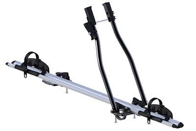 Soporte Bicicleta Universal Techo Coche Sagittar K39 1 Canala Aluminio Antirrobo