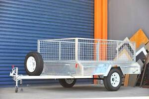8x5 Trailer Heavy Duty Design Weld side ATM750 with Tilt funtion Underwood Logan Area Preview