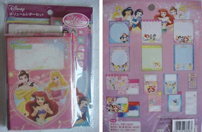 Disney HUGE Pack Classic Princess Stationery Envelop Set Stationary Stickers NEW