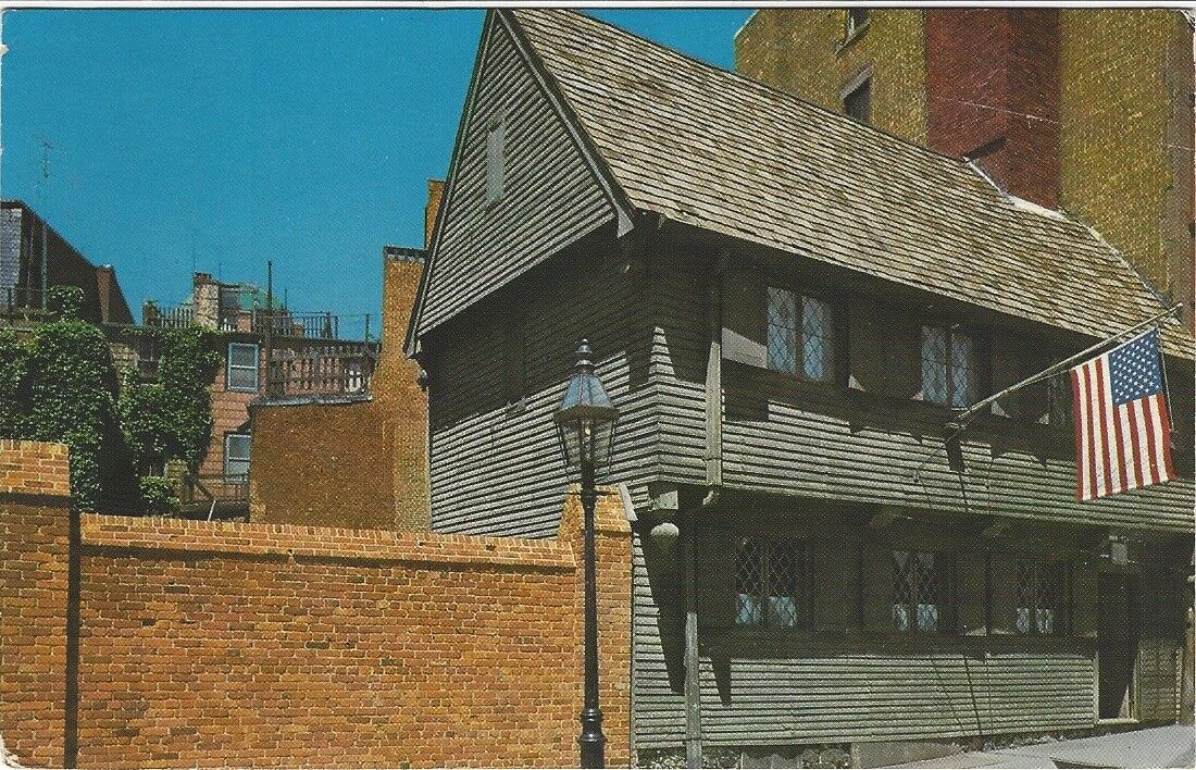 Best buy 1975 Postcard- Paul Revere House, Boston Massachusetts