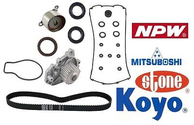 All oem Timing Kit BeltWater PumpPulleys Acura Integra B18B1 1996 2001