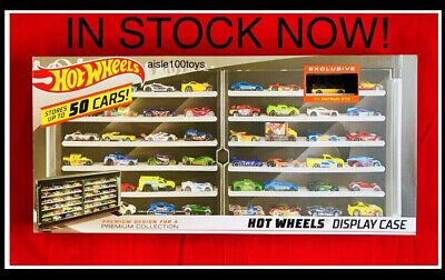 Hot Wheels '71 Datsun 510 Yellow & Black 50 Car Collectors Case In Stock 2019