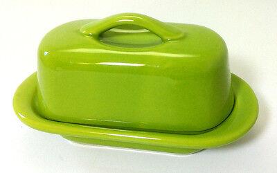 "Chantal Mini Butter Dish Lime Green 5"" x 3"""