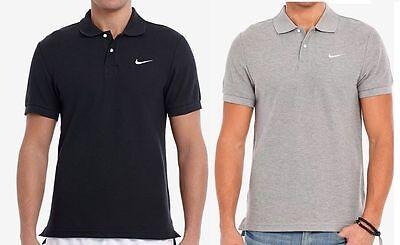 - Nike Men's Classic Pique Polo Shirt T-Shirt Casual Fold Down Collar