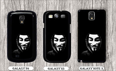 ANONYMOUS WHITE MASK CASE FOR SAMSUNG GALAXY S3 S4 NOTE 3 -gfd2Z