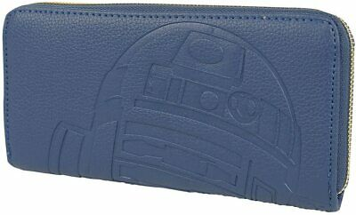 Official Loungefly Star Wars R2-D2 R2D2 Purse Wallet Blue New