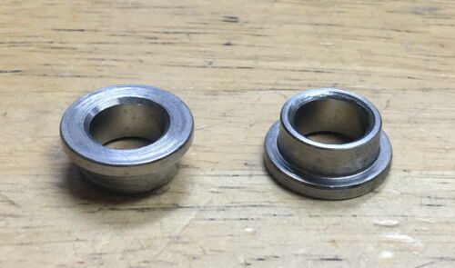 PAIR 14mm TO 3/8 AXLE ADAPTER FOR BMX BICYCLE BIKE