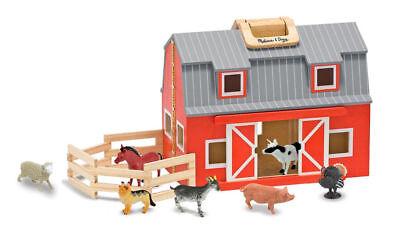 Melissa & Doug Fold and Go Barn, free shipping