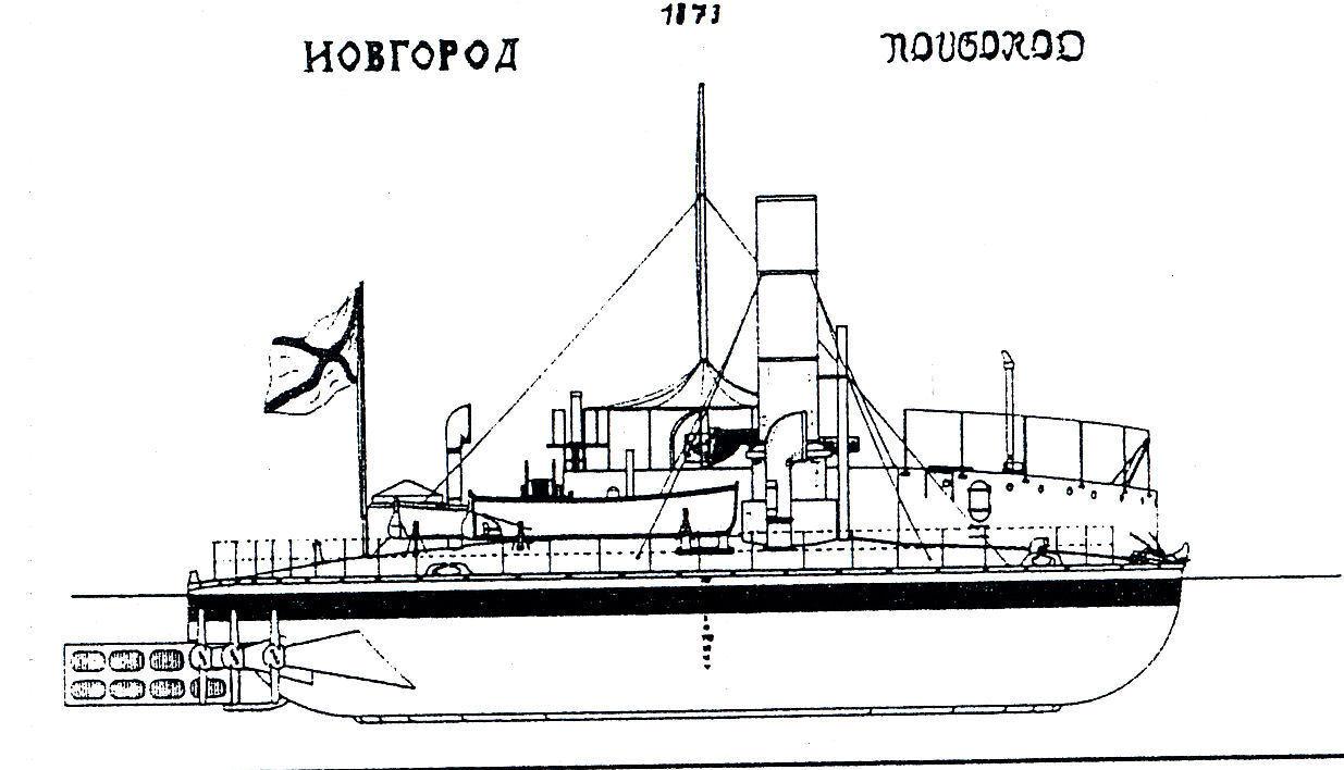 Modellbauplan SMS PRINZ ADALBERT 1864 Schlachtschiff