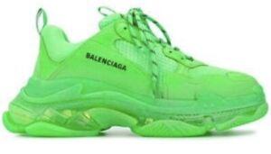 Balenciaga triple s green