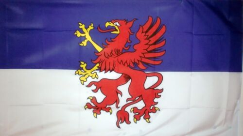 POMMERN Pomerania STATE FLAG GERMAN GERMANY Baltic Poland flags 5x3 feet