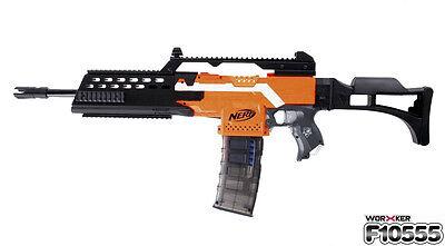 Worker Mod G36 Custom Made Nerf N-strike Elite Toy STF Modular Black