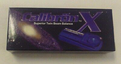 CALIBRON X SUPERIOR TWIN BEAM BALANCE JEWELRY SCALE 4 GRAM MINI POCKET POSTAL