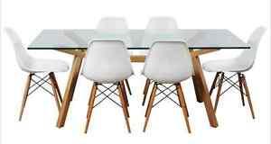 "Glass Matt Blatt ""Contempo"" Dining Table & Chairs Surry Hills Inner Sydney Preview"
