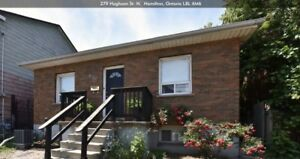 3 BR BUNGALOW FOR RENT!!! JAMES STREET NORTH - HAMILTON
