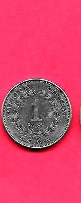 Costa Rica Km210 1 1984 Unc Uncirculated Mint Colon Coin