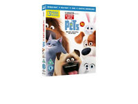 Blu-Ray + DVD : The Secret Life's Of Pets