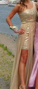 Three beautiful, fitted prom dresses for sale