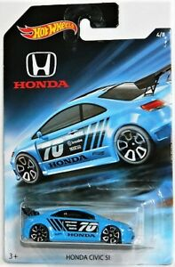 Hot Wheels 1/64 Honda Civic Si Diecast Car