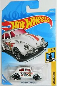 Hot Wheels 1/64 Volkswagen Beetle Diecast Car Checkmate