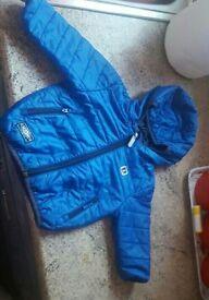 Boys Gorgeous Blue NEXT coat 9-12 months excellent condition